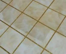 荷花苑美缝施工效果图